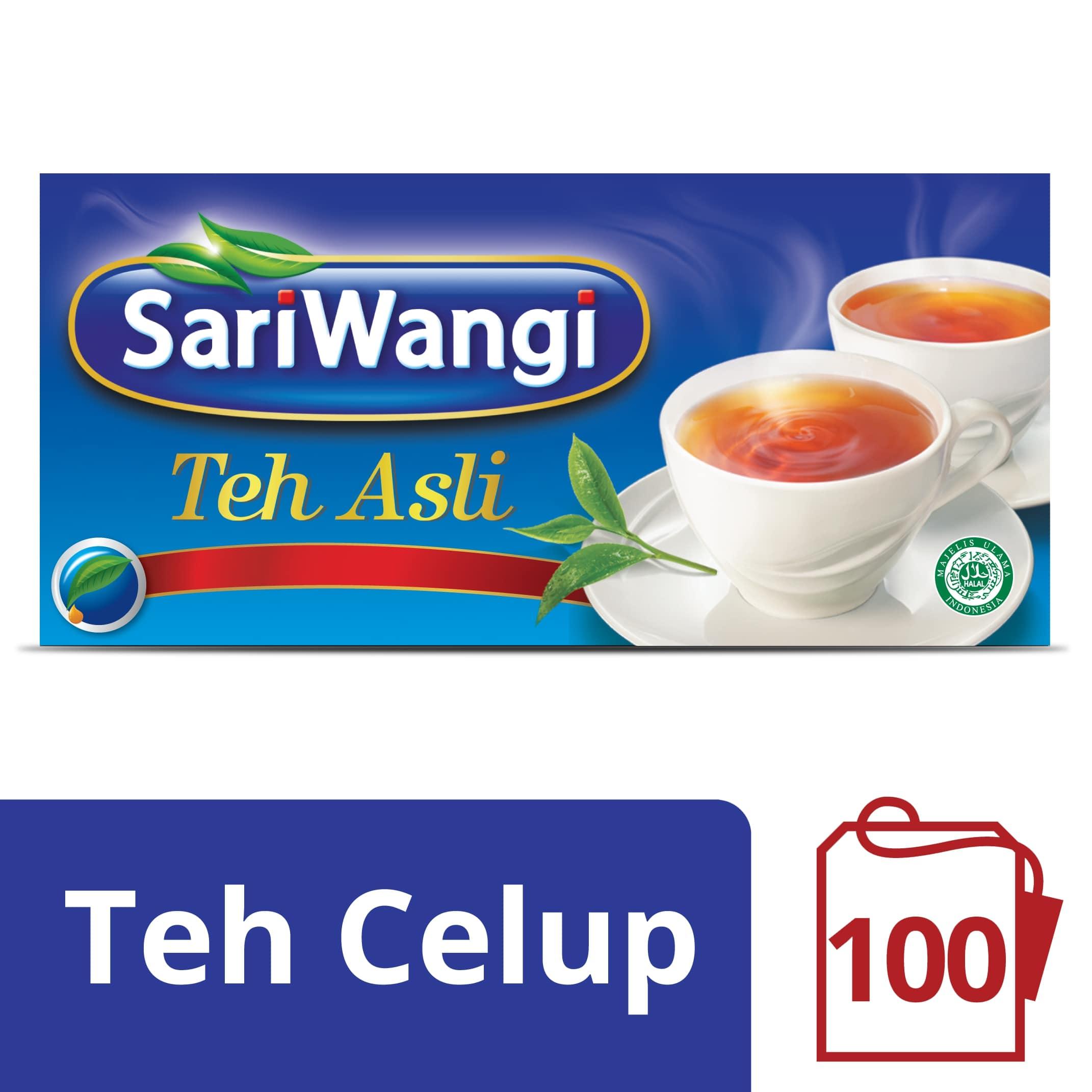SARIWANGI ASLI TEA BAG 100x1.85G